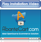 AbanteCart template installation video