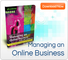 Managing an Online Business - The easy NON-technical eBook