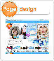Specific Page Design