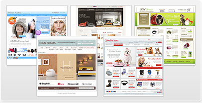 Largest Selection of Premium Ecommerce Templates