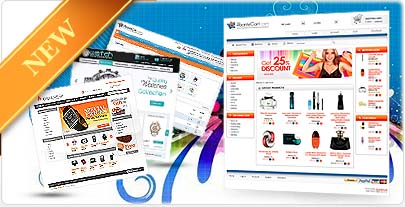 Selection of Premium AbanteCart Ecommerce Templates